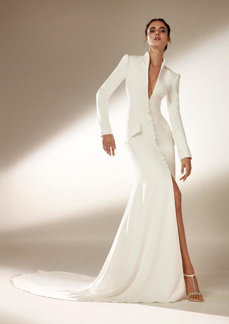 дизайнерские свадебные платья 2021