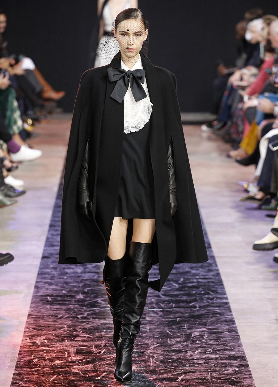 сапоги ботфорты высокие черные модные осень зима 2020 2021