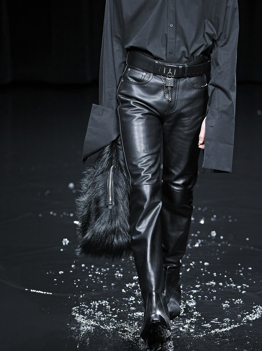 модная сумка мех пушистая мягкая осень зима 2020 2021 черная