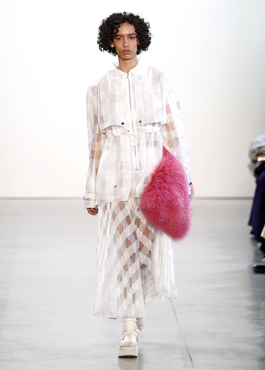 модная сумка мех пушистая мягкая осень зима 2020 2021 розовая фуксия