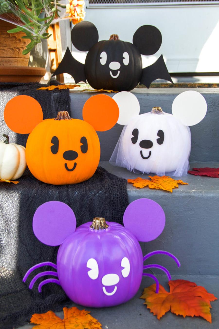 хэллоуин 2020 тыква черная летучая мышь