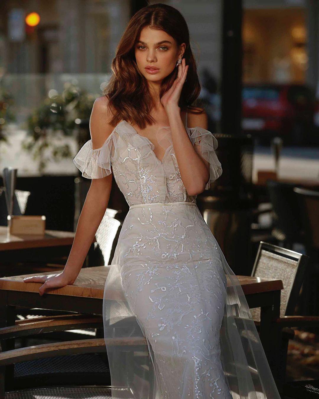 даша хлистун свадебное платье