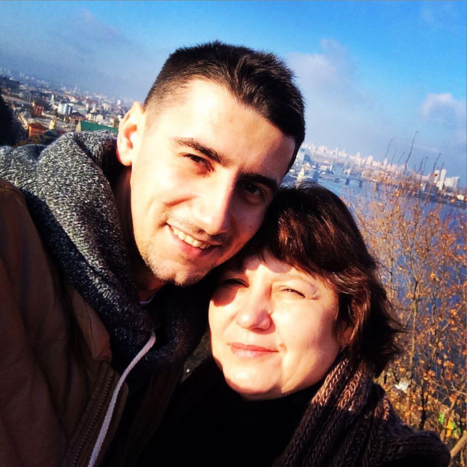 Эллерт с мамой