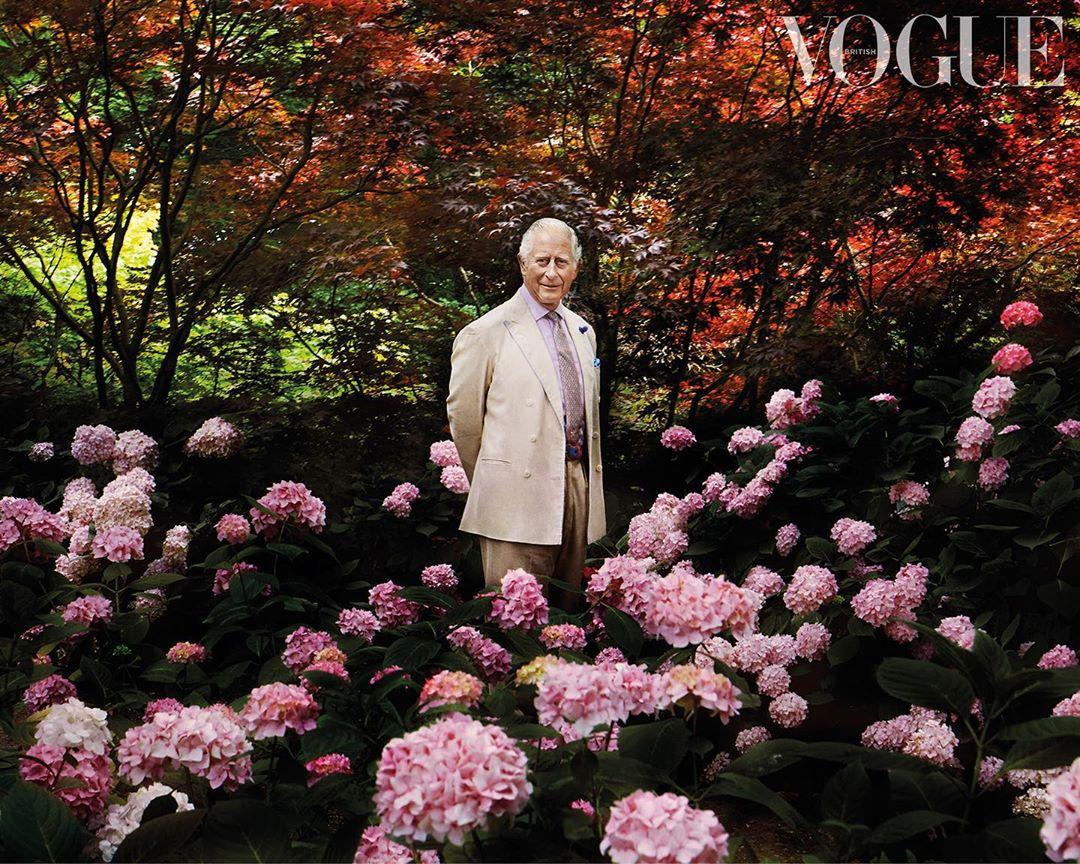 принц чарльз Vogue