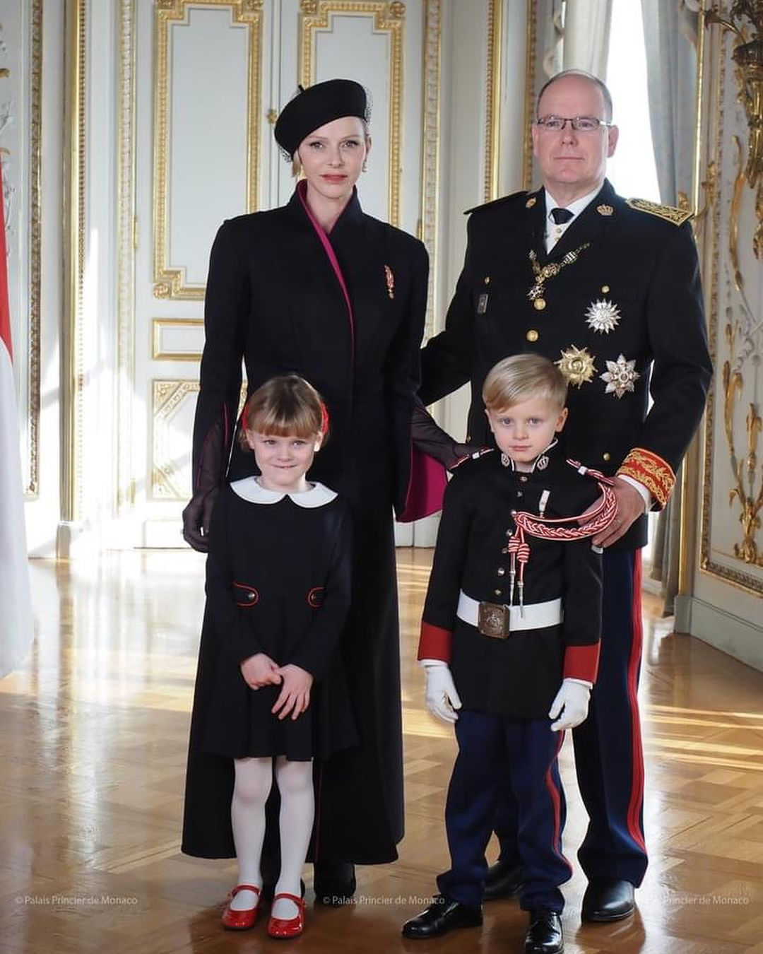 князь монако и княгиня шарлен