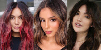 окрашивание для темных волос