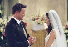 свадьба чендлера и моники