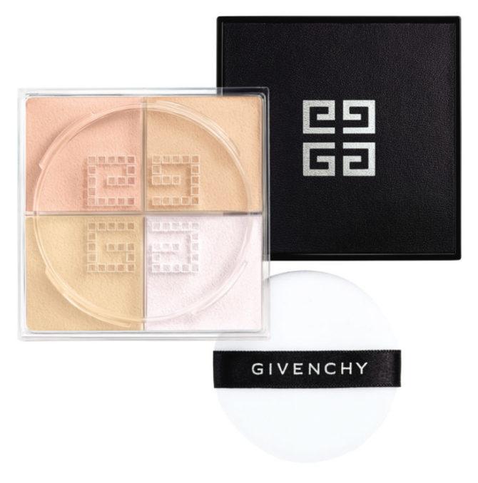 Рассыпчатая пудра, которая корректирует серый подтон кожи, Prisme Libre, № 02 Satin Blanc, Givenchy