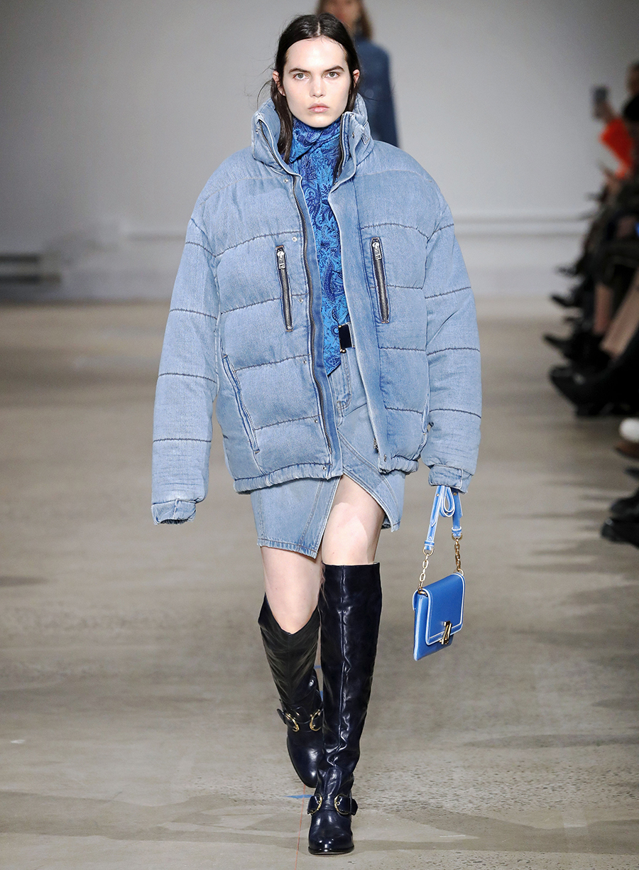 модный пуховик бархат плюш замша зима 2020 2021 голубой синий короткий