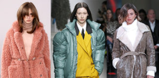 пуховик дубленка шуба зима 2020 2021 модные тренды