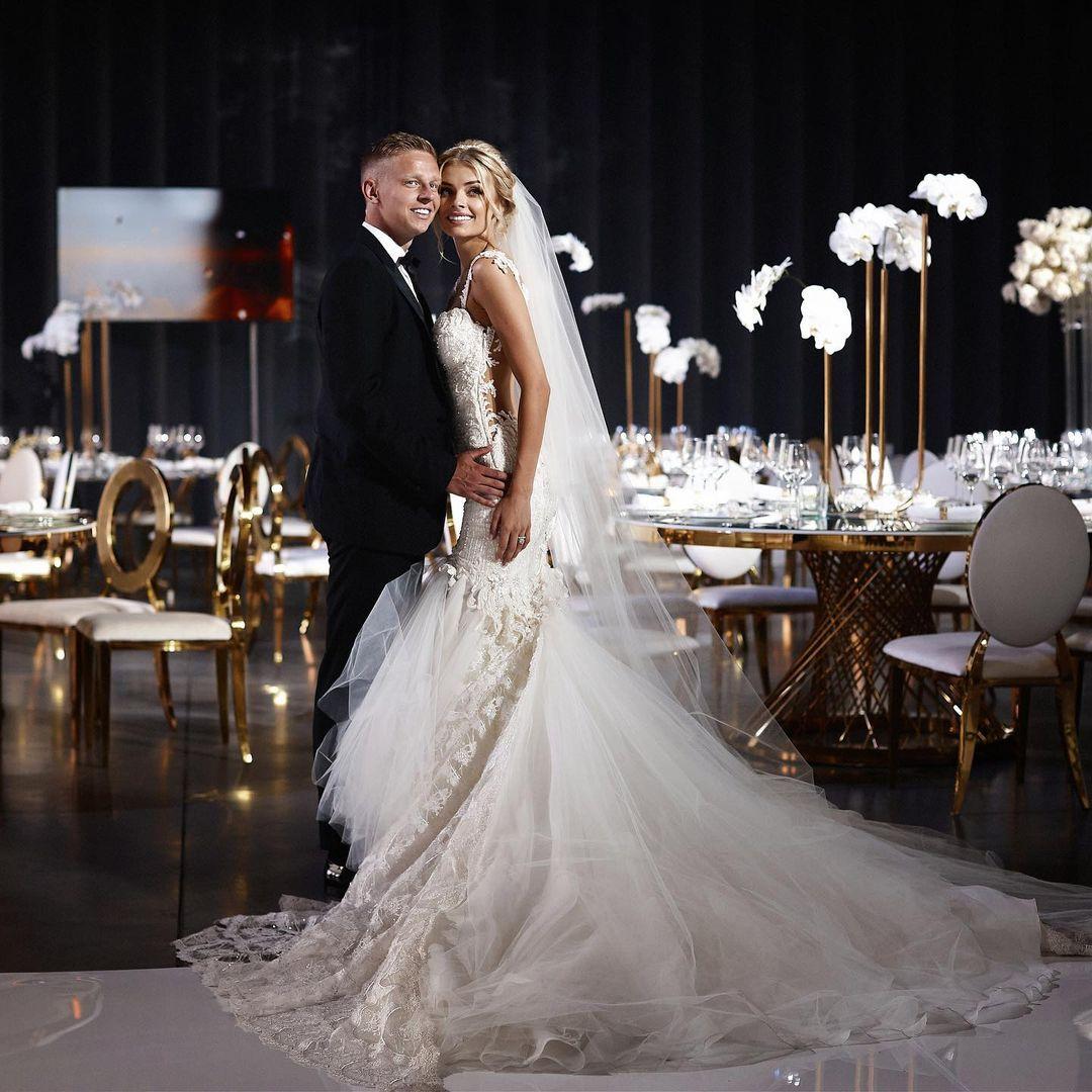 Александр Зинченко жена свадьба