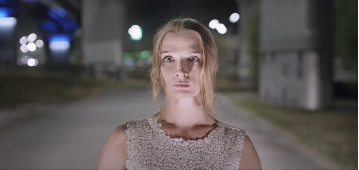 Фатима Горбенко в клипе океан ельзи