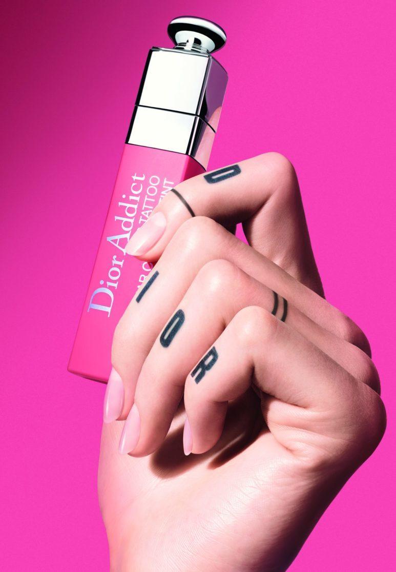 Тинт для губ с эффектом тату Dior Addict Lip Tatoo, Natural Peach, Dior