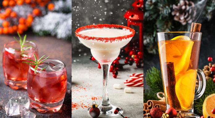 коктейли рецепты приготовить додма новый год 2021