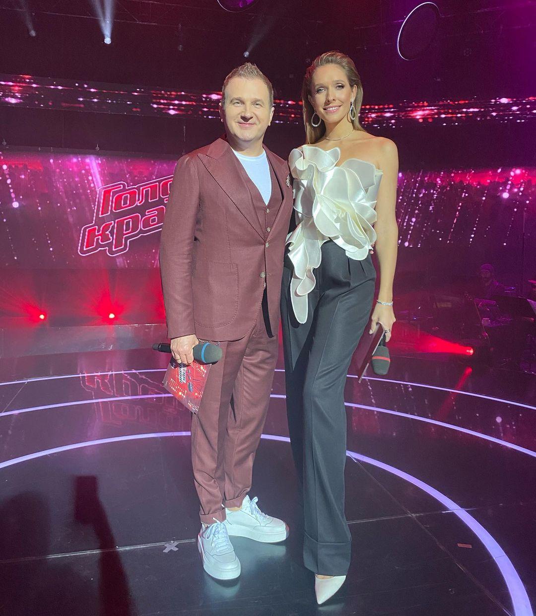 Голос країни 11 сезон жюри тренеры судьи ведущий Катя Осадчая Юрий горбунов