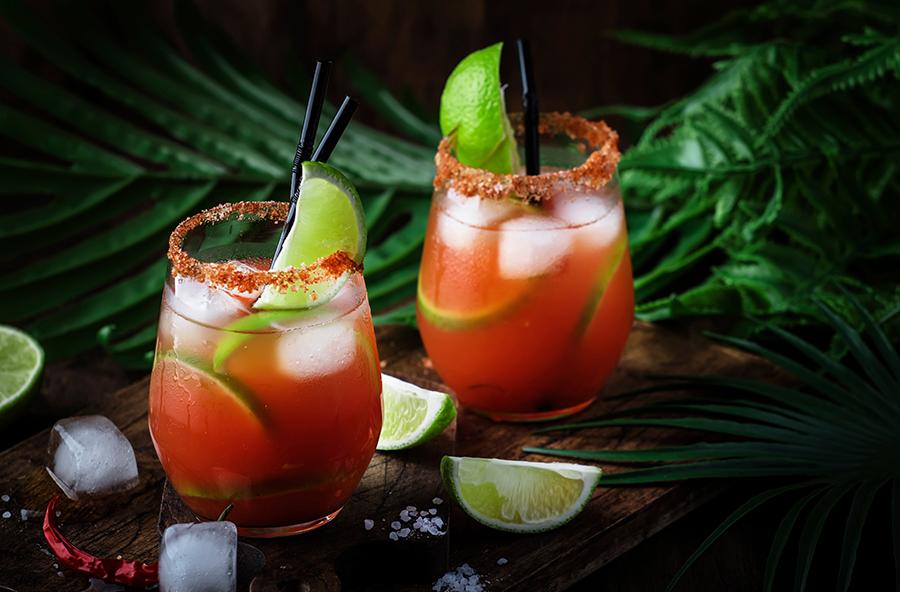 коктейль пиво томатный сок мексиканский модный рецепты приготовить дома новый год 2021
