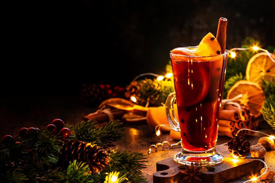 глинтвейн безалкогольный коктейли рецепты приготовить дома новый год 2021