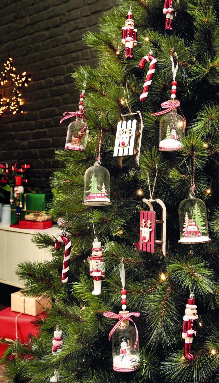 новогодний декор, хенд-мейд игрушки на елку
