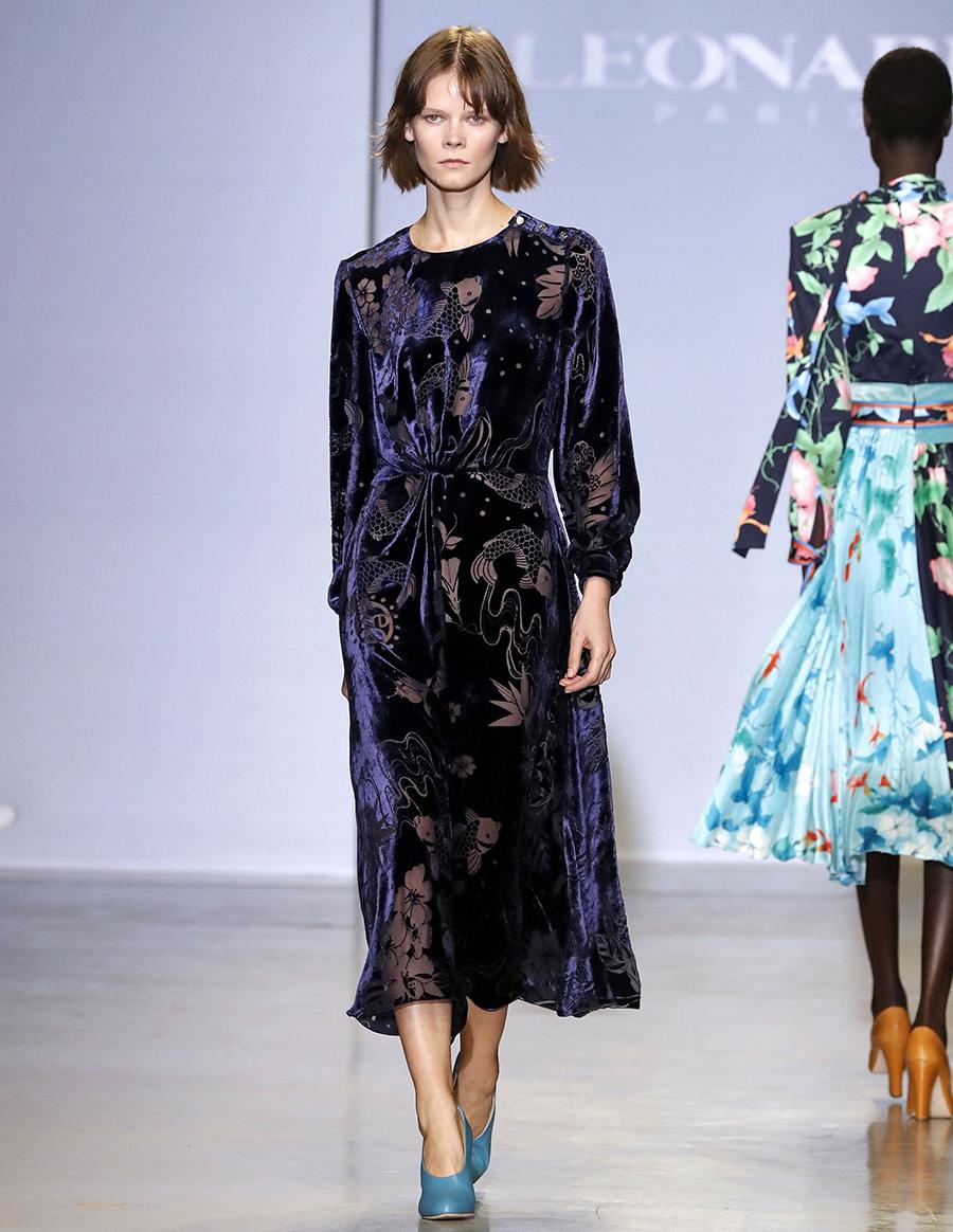 платье бархат миди фиолетовое что надеть на новый год 2021