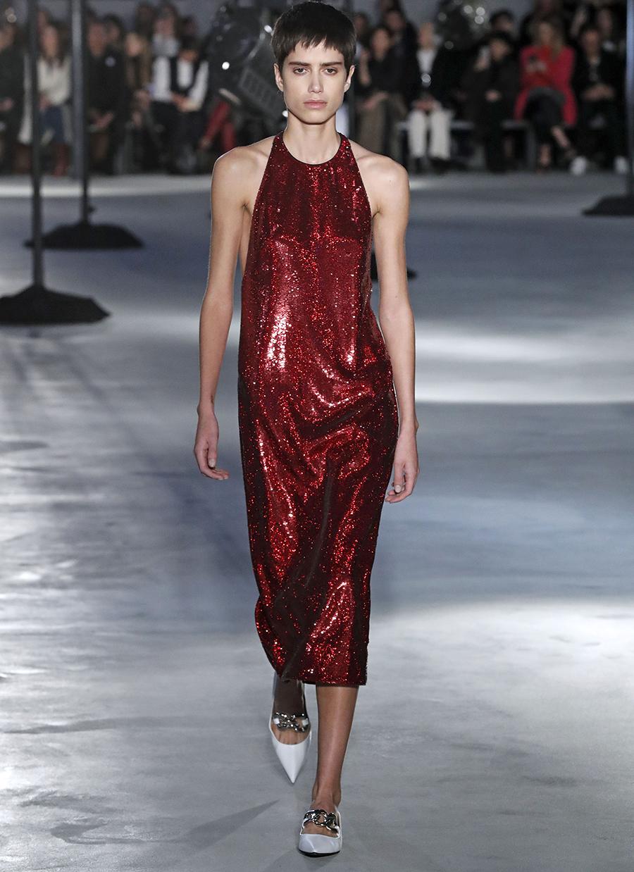 платье пайетки миди красное что надеть на новый год 2021
