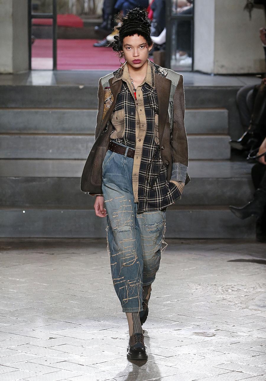 джинсы баллоны