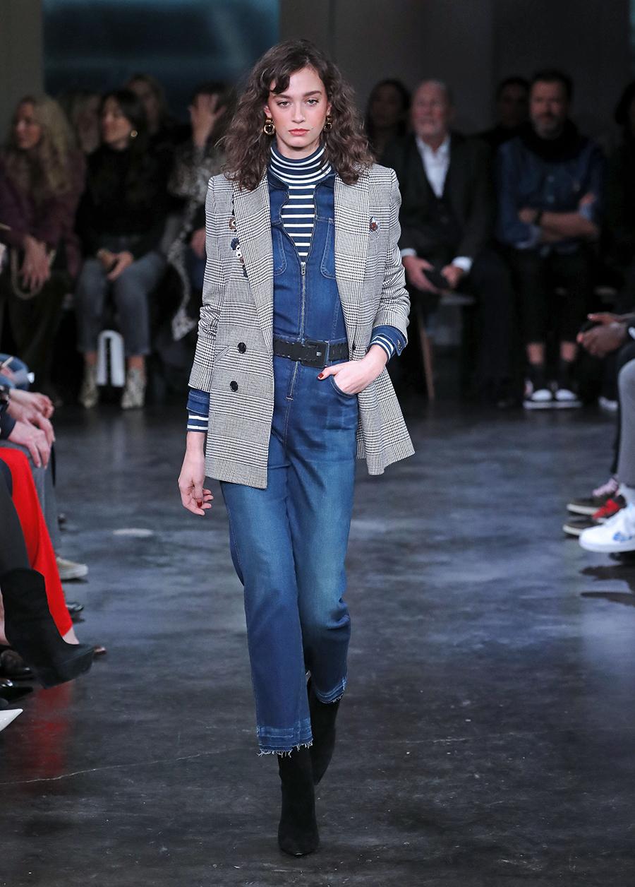 джинсы зима 2020 2021 модные бахрома необработанный край синие узкие