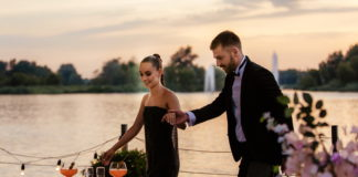 Ксения Мишина и Андрей Рыбак