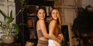 Злата Огневич с сестрой Юлей