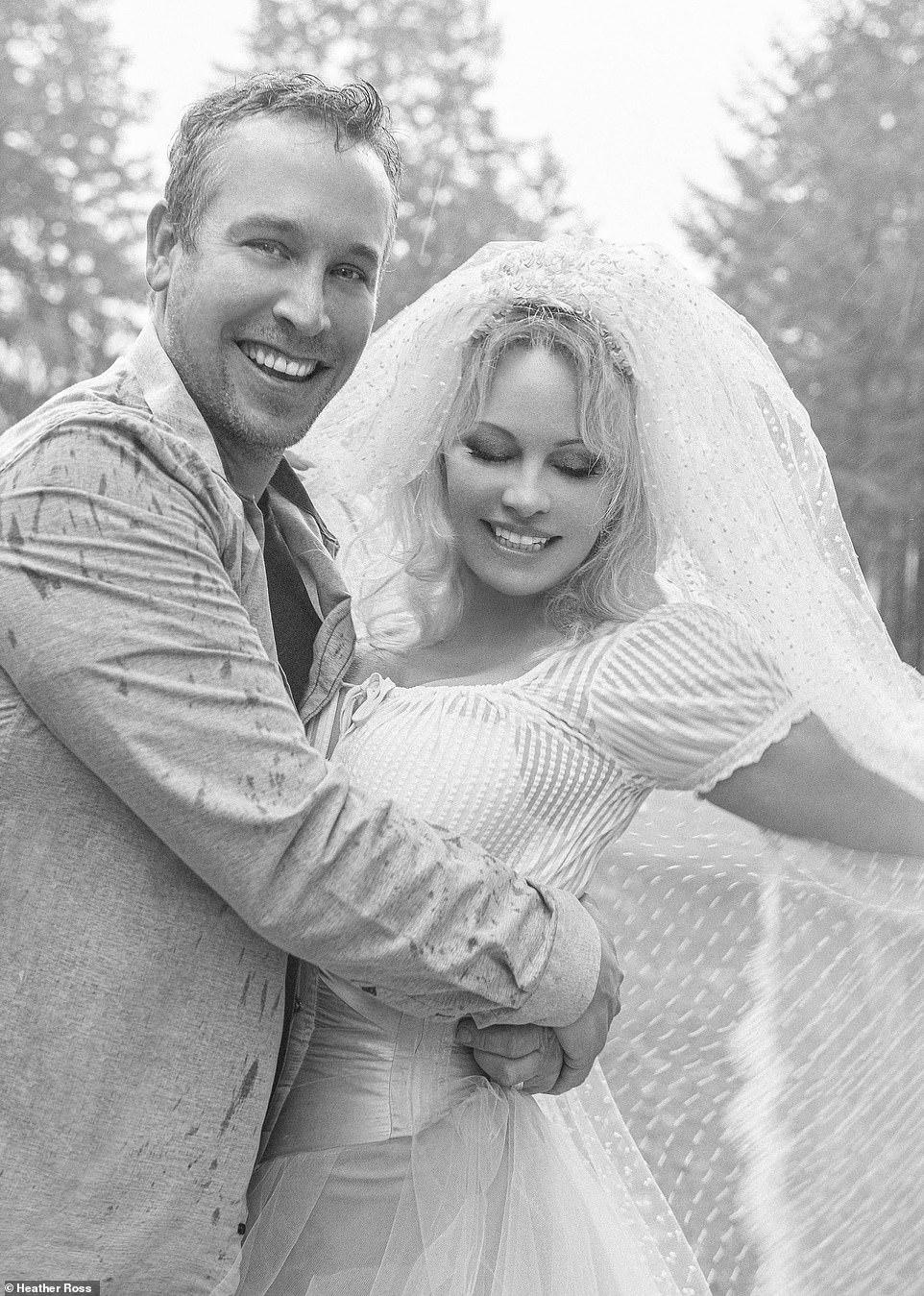 памела андерсон муж, свадьба