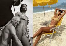 тина кунаки венсан кассель пляж в купальнике новый год