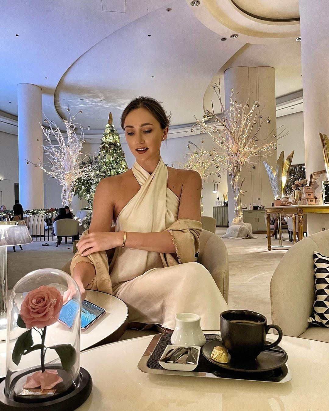 украинские звезды отдых новый год 2021 рождество отпуск путешествие анна ризатдинова дубай