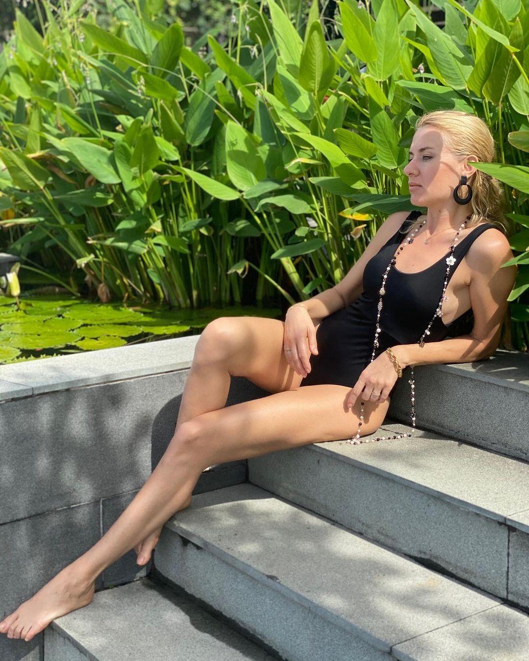 украинские звезды отдых новый год 2021 рождество отпуск путешествие ольга горбачева