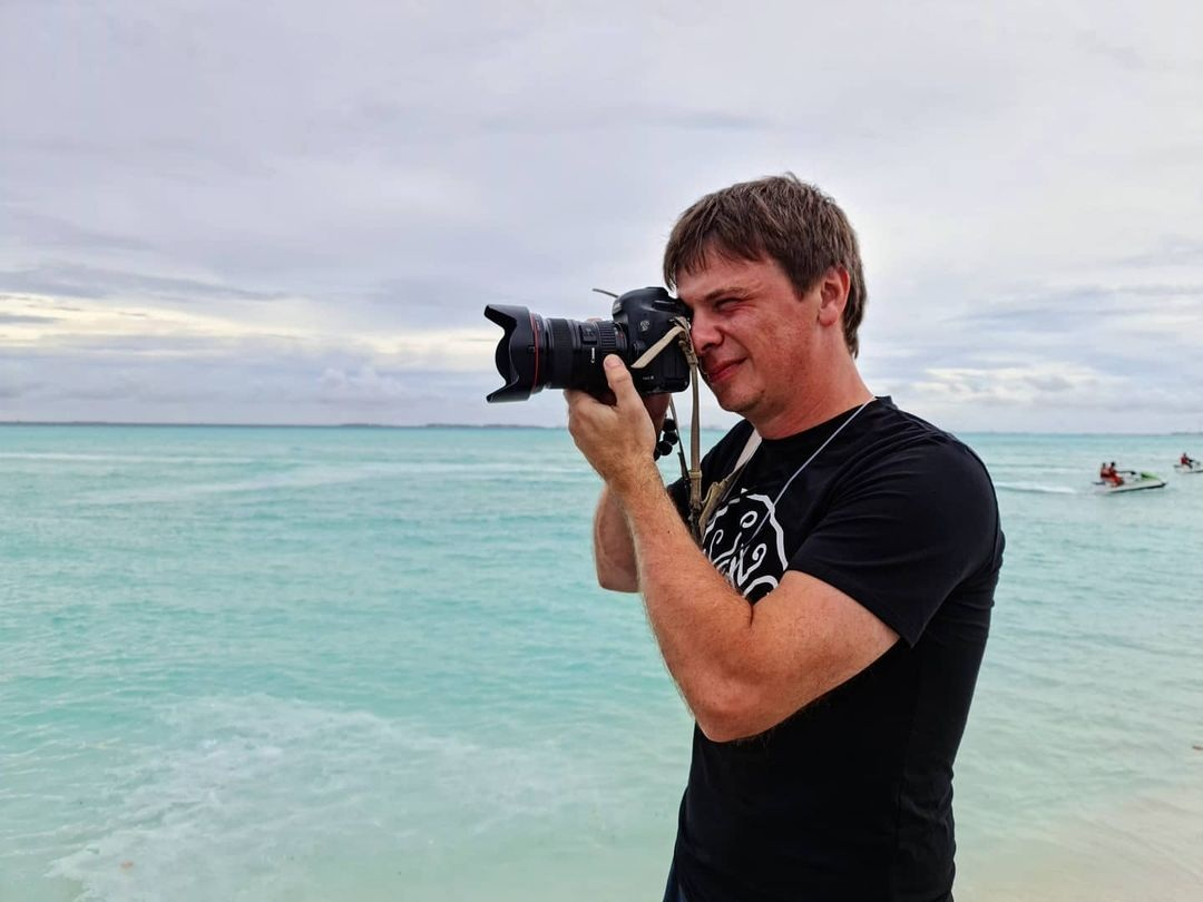 украинские звезды отдых новый год 2021 рождество отпуск путешествие Дмитрий Комаров