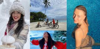 украинские звезды отдых новый год 2021 рождество отпуск путешествие