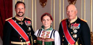 принцеса ингри александра норвегия королевская семья