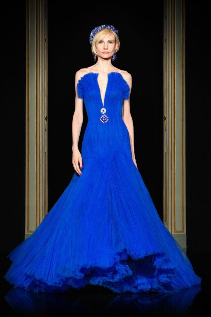 Armani вечернее платье 2021