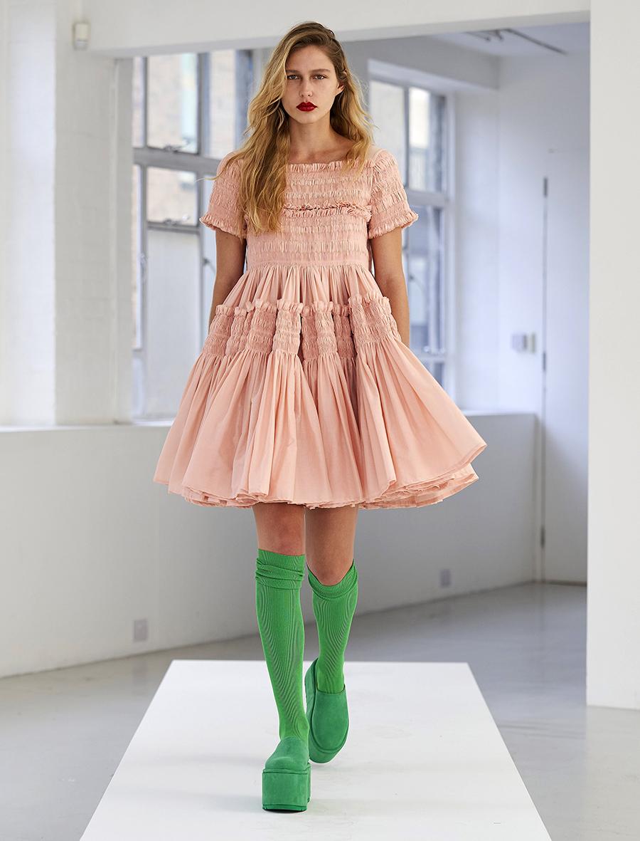 что надеть день влюбленных валентина платье кукольное беби долл короткое розовое бежевое пышная юбка