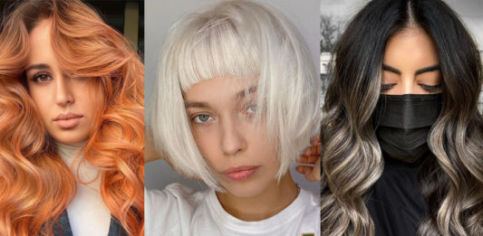 покраска волос окрашивание модное тренды 2021
