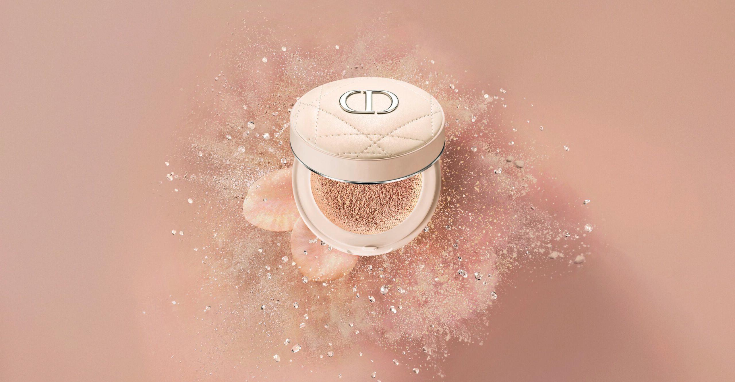 Ультратонкая освежающая рассыпчатая пудра-кушон Dior Forever Cushion Powder