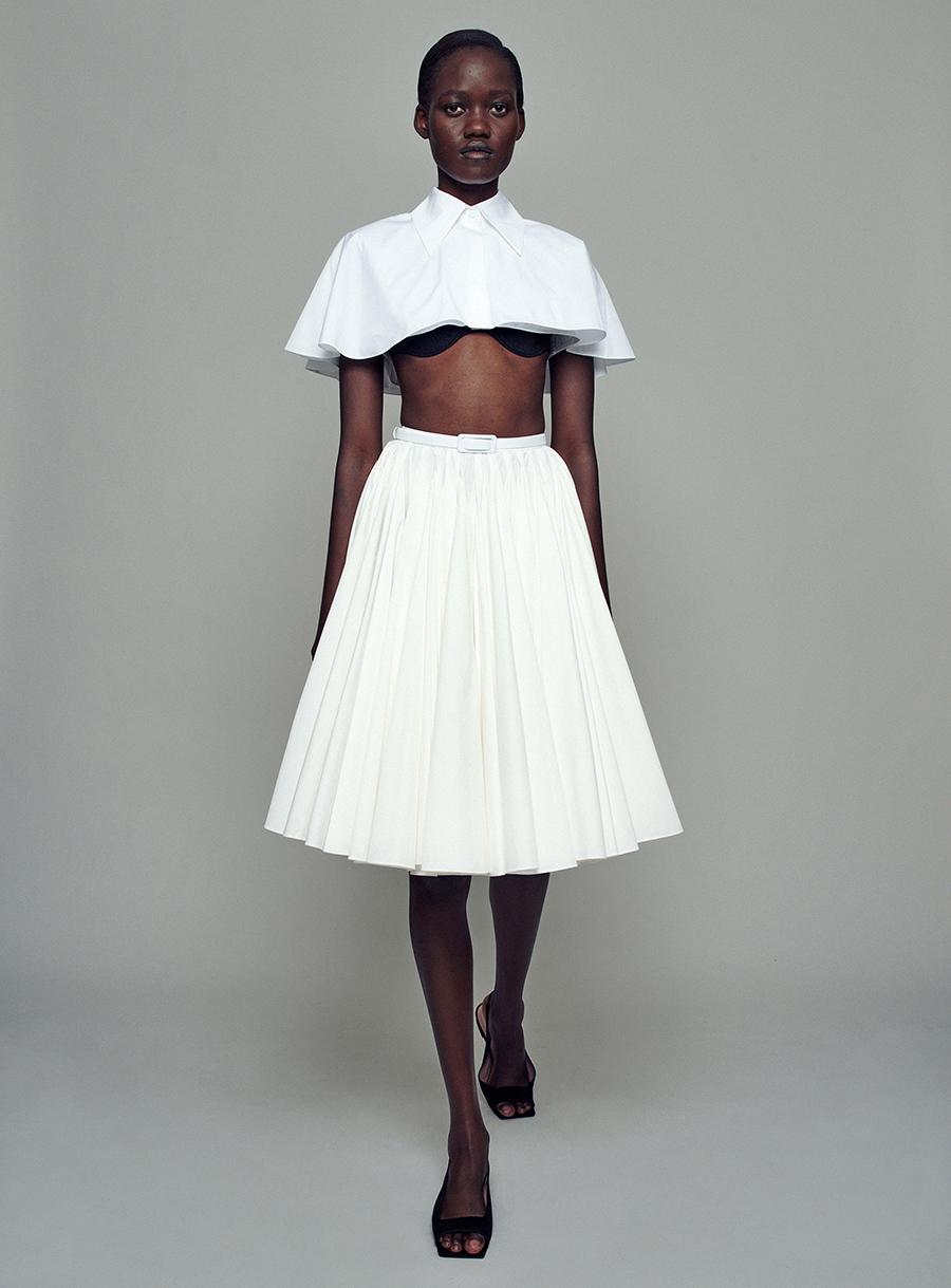 модная блуза блузка рубашка короткая кроп открытый живот белая