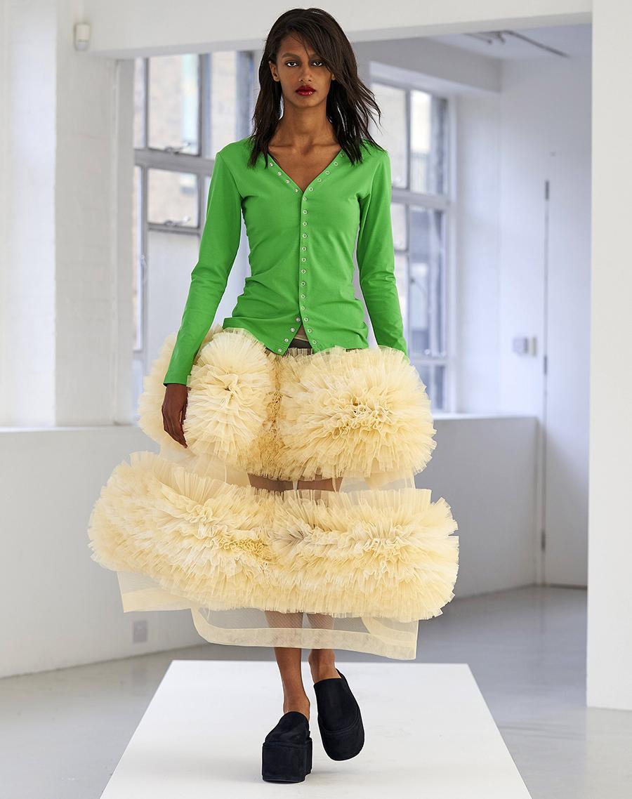модная блуза блузка рубашка трикотажная поло зеленая