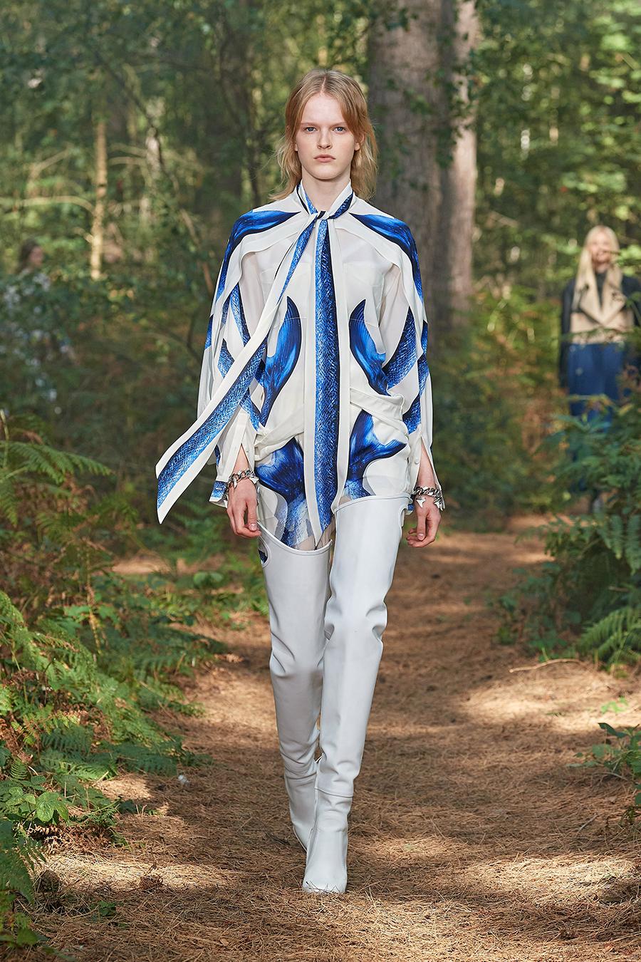 модная блуза блузка рубашка с бантом белая голубая синяя