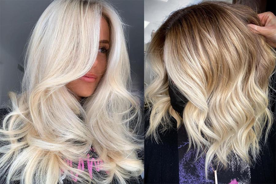 окрашивание блонд лето 2021 тренды