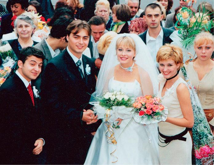 елена кравец свадьба свадебное платье пышное белое украинские звезды в чем выходят замуж