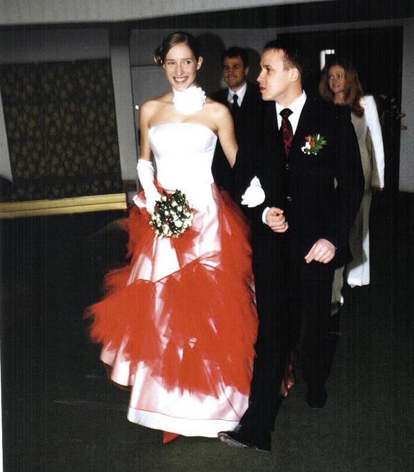 катя осадчая олег полищук свадьба свадебное платье длинное белое красное корсет украинские звезды в чем выходят замуж