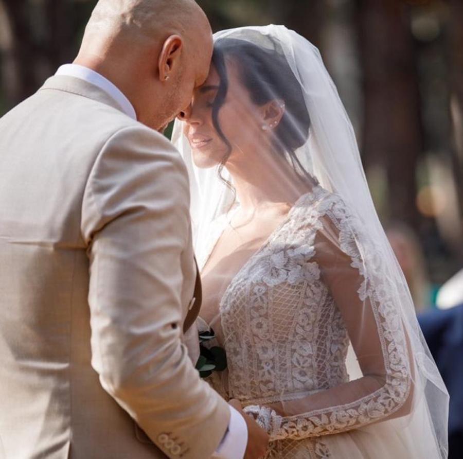 настя каменских потап свадьба свадебное платье длинное украинские звезды в чем выходят замуж