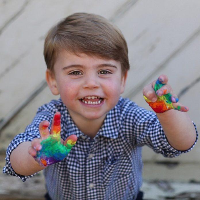 принц луи день рождения три года