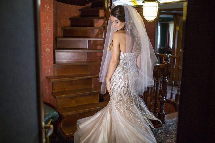 влад яма лилиана свадьба свадебное платье длинное украинские звезды в чем выходят замуж