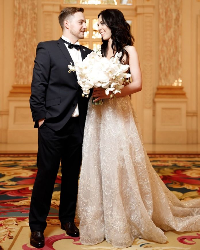 соня кей свадьба свадебное платье белое длинное украинские звезды в чем выходят замуж