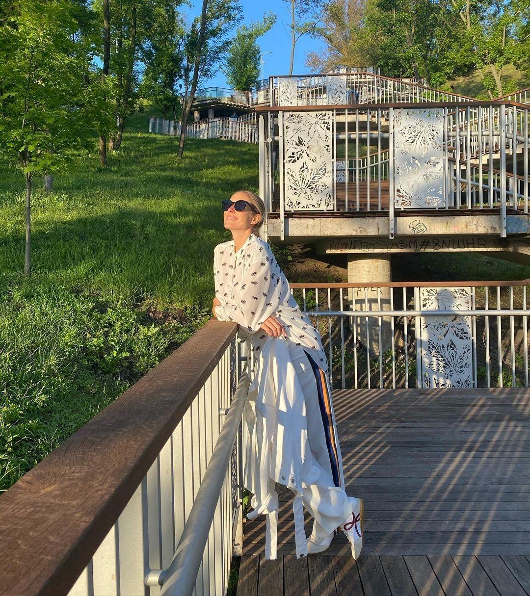 день киева звезды как празднуют места куда пойти Катя Осадчая Воздвиженка пейзажная аллея